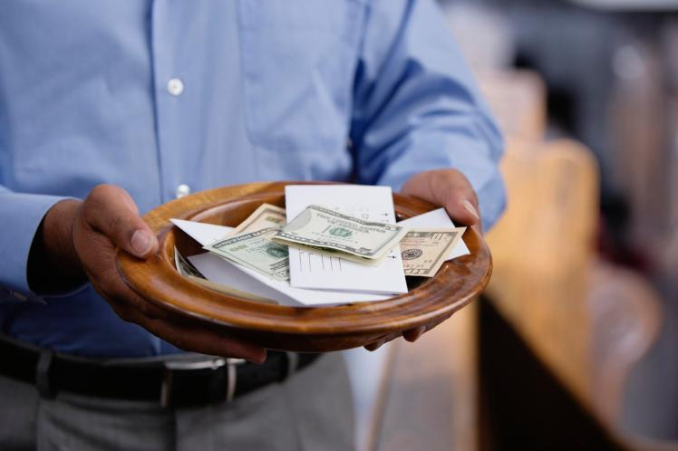 Church-Offering-Plate